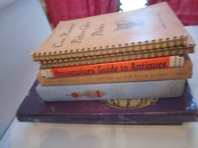 Lot Of 8 Vintage Antique Collector's Guides And Manuals & Books
