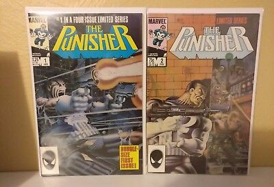 Marvel Punisher limited series #1-5 Complete Full run 1986 See Discription
