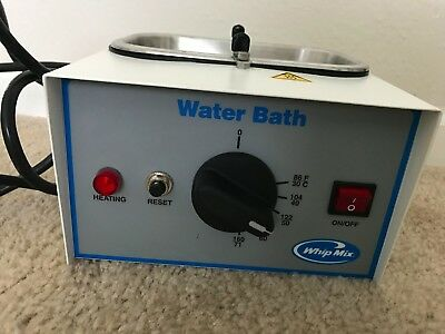 Whip Mix Water Bath with Metal Bowl Barely Used