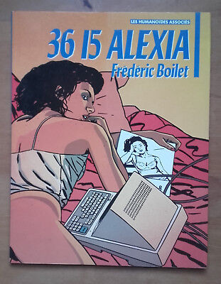 36 15 Alexia, by Frederic Boilet. Paperback. Very good condition