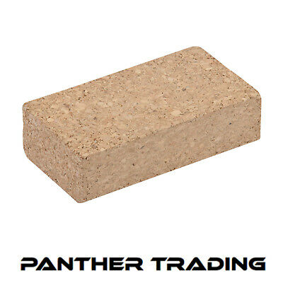 Silverline Cork Hand Sanding Block Use With Abrasive Paper - 282641