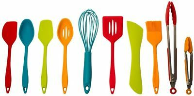 Core Kitchen Home 10 Piece Silicone Cooking Utensil Set - Utensils