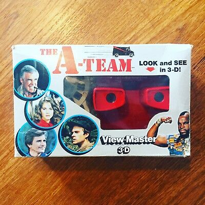 Vintage 1983 A Team View Master 3D - Boxed
