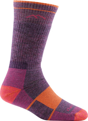 Darn Tough W's Boot Sock Full Cushion Socks, Plum Heather, M