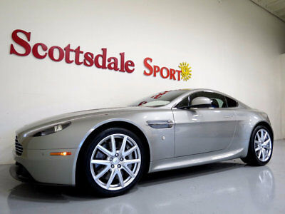 2012 Aston Martin Vantage ONLY 12K MILES, LOADED, BEAUTIFUL RARE COLOR!! MUS 2012 V8 VANTAGE CPE * 12K MILES, SILVER FOX PRL, NAVI, HiFi, WHLS, STITCHING, NU