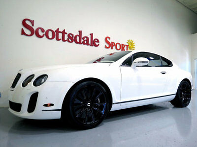 2010 Bentley Continental GT ONLY 19k MILES, BEST COLORS, NAIM AUDIO, AS NEW 10 BENTLEY GT SUPERSPORTS * 19K MILES * WHITE, NIAM HiFi, WHLS, AS NEW EXAMPLE!!