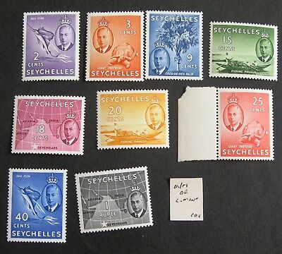 SEYCHELLES Unmounted and light mint