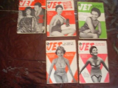 Lot4 Five vintage jet magizines free domestic shipping no reserve