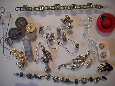 lot bijoux fantaisie divers