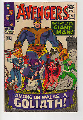 Marvel Comics The Avengers No 28, 1965 - Silver-Age, 1St Collector!