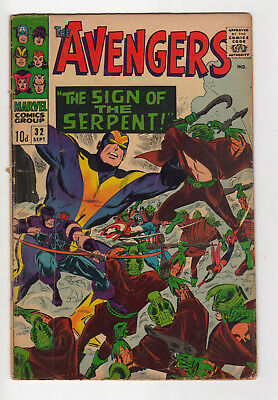 Marvel Comics The Avengers No 32, Silver-Age, 1St Bill Foster (Ant-Man And Wasp)