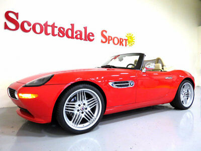 2002 BMW Z8 6,495 MILES, 1 of 62 PRODUCED HELLROT RED on CREMA 02 BMW Z8 RDSTR * ONLY 6K MILES, HELLROT RED on CREMA * MUSEUM QUALITY Z8!!