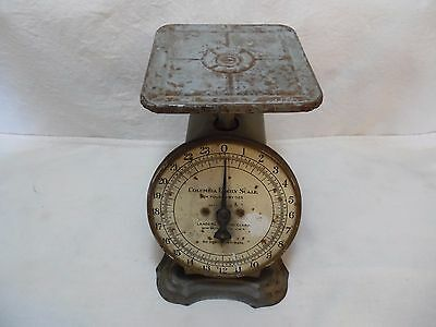 Vintage Columbia Family Scale 24 Pounds By Ounces