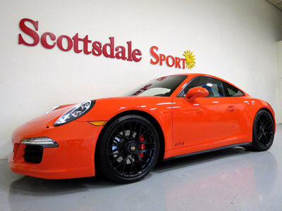 2016 Porsche 911 ONLY 2,239 MILES * SPECIAL ORDER LAVA ORANGE w GIA 2016 CARRERA GTS CPE * 2K Mi * SPECIAL ORDER LAVA ORANGE, LOADED, AS NEW!!