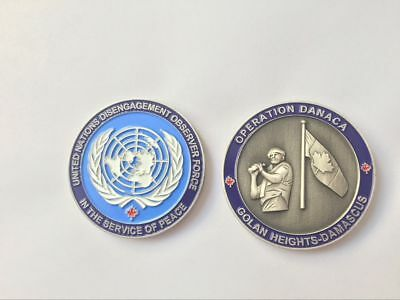 Canadian Forces Golan Heights Collectible Coin