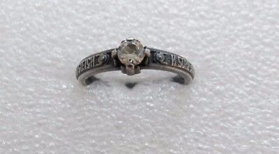 Antique silver ring