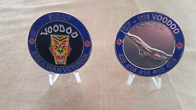 Canadian Forces CF 101 Voodoo Collectible Coin