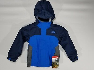 NWT North Face Boys Vortex Triclimate 3-in-1 Toddler Ski Jacket 3T TNF Blue