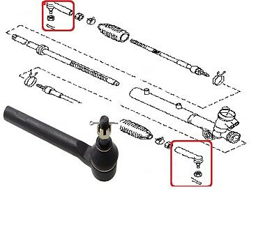 Tie Rod Track Rod End For Nissan Murano Z50 2002-2007