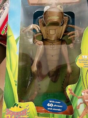 HOPPER BUGS LIFE Electronic Talking Room Guard Disney Pixar Figure NEW IN BOX