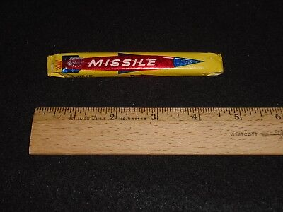 Vintage 1950's Guided Missile Bubble Gum With Fact & Fantasy Comic! VERY RARE!