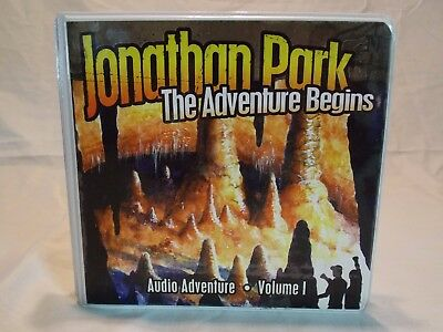 Jonathan Park: The Adventure Begins, Volume 1.  4 CD Set, Includes Study Guide