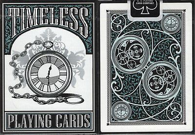 Timeless Playing Cards Poker Size Deck USPCC RSVP Custom Limited Edition Sealed