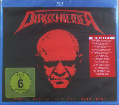 Dirkschneider - Live - Back To The Roots - Accepted 2CD + Blu Ray Digipak NEW