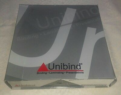 30mm - Bordo - 25pcs UniBind SteelCrystal Covers - Factory Sealed In Open Box