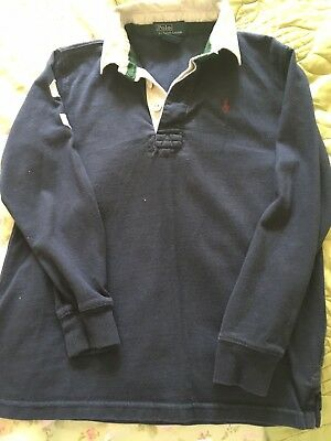 Boys Ralph Lauren Rugby Top Age 7