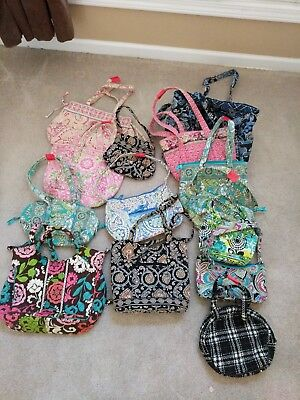 Lot of 14 Vera Bradley Purses