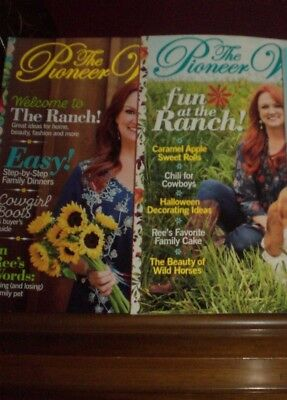 Pioneer Woman Magazines Issues # 1 and # 2