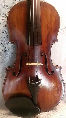 Very Old Antique Violin  ,4/4 Size  Giuseppe Fiorini 1921  Lable