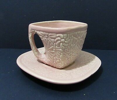 NILOAK Pottery Cup and Saucer
