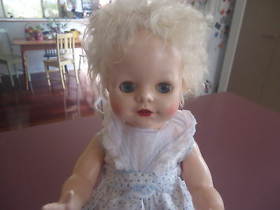 Vintage Pedigree Doll Wearing Tagged Original Outfit