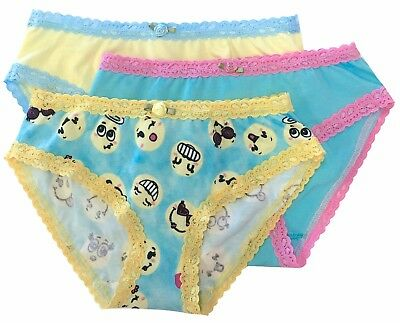 Esme Girls Comfortable Underwear XS 2-3 Panty emoji clearance