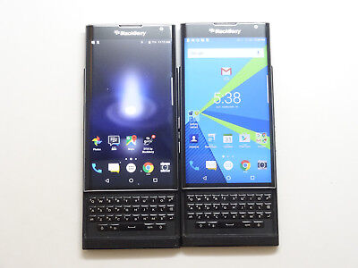 Lot of 2 Blackberry Priv T-Mobile STV100-1 32GB Smartphones AS-IS GSM