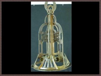 Antique Art Deco Chandelier Ceiling Light Fixture 1930s Heavy Fixture Rare Find!