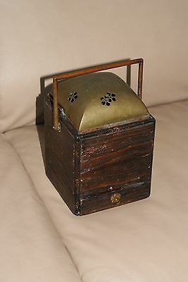 Antique Edo to Meiji Japanese Insense Burner / Hand Warmer