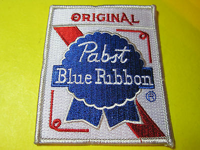 Beer Patch Pabst Blue Ribbon Original Look And Buy Now Free Ship Pbr Crest Size