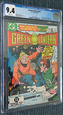 Green Lantern #162 CGC 9.4 White Pages  - Exploding child!