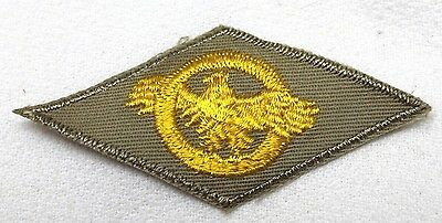 vintage WWII US Tan Cotton Honorable Discharge Ruptured Duck Patch each p5080