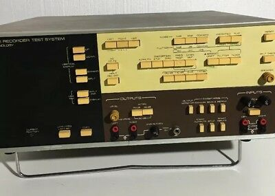 Sound Technologies (ST) 1500A Tape Recorder Test System