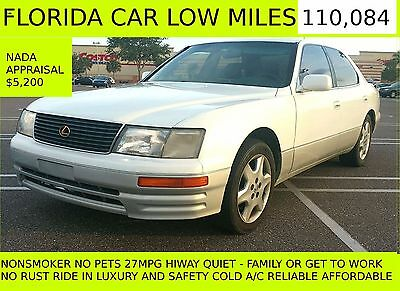 1995 Lexus LS LS400 113K NO RESERVE FLORIDA 120K Service Done LS400 LS NO RESERVE FLORIDA NEW TIMING BELT H2O PUMP 113K NO-RUST,SALT LUXURY