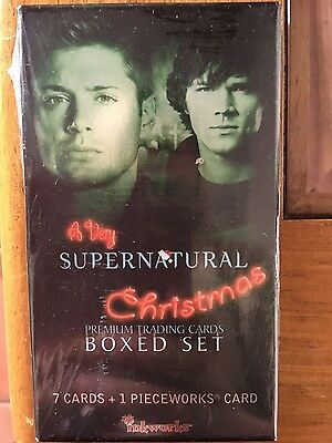 A very Supernatural Christmas Premium Trading Cards Boxed Set Factory Sealed