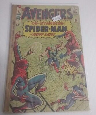 The Avengers co-starring Spider-Man 11 Comic Book