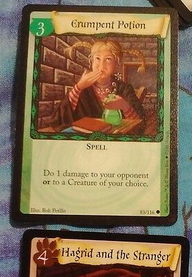 MINT! HARRYPOTTER TRADINGCARDGAME card!#83/116 spell:ERUMPENT POTION! MORECARDS!