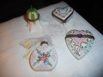 Limoges French trinket boxes