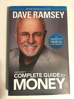 Dave Ramsey's Complete Guide to Money Hardcover BRAND NEW