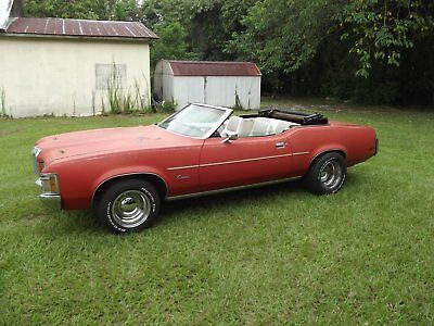 1971 Mercury Cougar  RARE 1971 Mercury Cougar 2 Door Convertible out of 20 years of storage rat rod